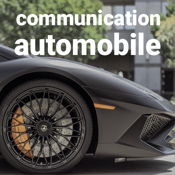 Visuel Communication automobile - wiwaprint